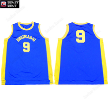Beast Beat #9 Degrassi Basketball Jerseys Movie Throwback Blue Retro Sports Leisure Sports Workout Jerserys Wholesale