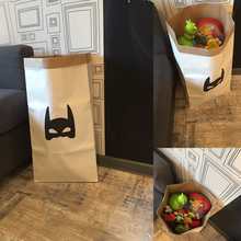 Large Cartoon Storage Bags Children Baby Play Mat Toys Clothes Organizer Heavy Kraft Paper Kids Laundry Bag Home Decor IC876984