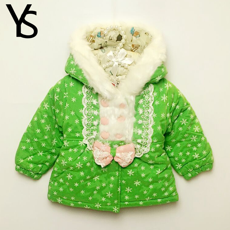 Sales! 9m-3T High Quality Baby Girls Warm Coat Toddler Cute Winter Coat Fur Hooded Jacket Out Wear Clothing 1 2 T ClearanceОдежда и ак�е��уары<br><br><br>Aliexpress