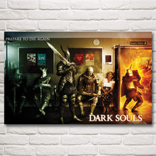 Dark Souls III Video Games Art Silk Fabric Poster Prints Pictures Home Wall Decor Printing 12x19 15x24 19x30 22x35 Inches