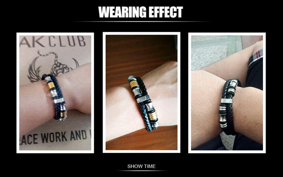 8-Leather Bracelet