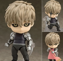 Anime One Punch Man Action Figure Jie Nuosi 645 One Punch PVC Figure Genos Model Toys gifts(China)