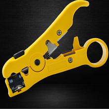 Multifunctional automatic telephone wire stripper coaxial cable stripper electrician Stripping Terminal Any regulation tool