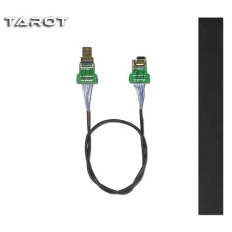 Tarot Mini Camera Gimbal Line Cable Straight Micro HDMI to Micro HDMI Non-Destructive HD Shielded Tarot TL10A07 FPV Aircraft<br>