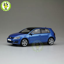 1:43 Scale VW Volkswagen Golf 4 doors Diecast Car Model Toys Blue