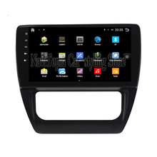 NaviTopia Brand New 10.1inch Quad Core Android 6.0 Car PC For Volkswagen Sagitar(2012-2016) Car Audio Player With GPS Navigation(China)