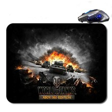 Free Shipping  World Of Tank Logo Quick Printing Game Rubber  Mouse Pad/Optical Mouse Pad/Notebook Mouse Pad/Anti-Slip Mouse Pad