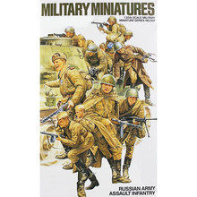 OHS Tamiya 35207 1/35 Russian Army Assault Infantry Set Miniatures Assembly Military figures Model Building Kits(China)