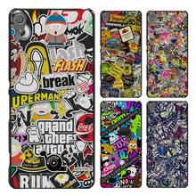 Sticker Bomb Illustration Pattern Style Case Cover for Sony Ericsson Xperia X XZ XA XA1 M4 Aqua E4 E5 C4 C5 Z1 Z2 Z3 Z4 Z5