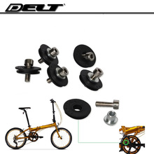 Folding bike Bicycle derailleur pulley  front shift cable guide wire  wheel