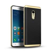 For Xiaomi Redmi Note 4 Case iPaky Original PC Frame+Silicone Hybrid Protective Back Cover Cellphone Case for Xiaomi Redmi Note4