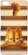 Garfield Cat Cell Phone Case For BQ Aquaris M5 E5 E6 M5.5 X5 Plus For Blackberry Z10 Z30 Q10 For Nokia Lumia 520 630 930 Cover