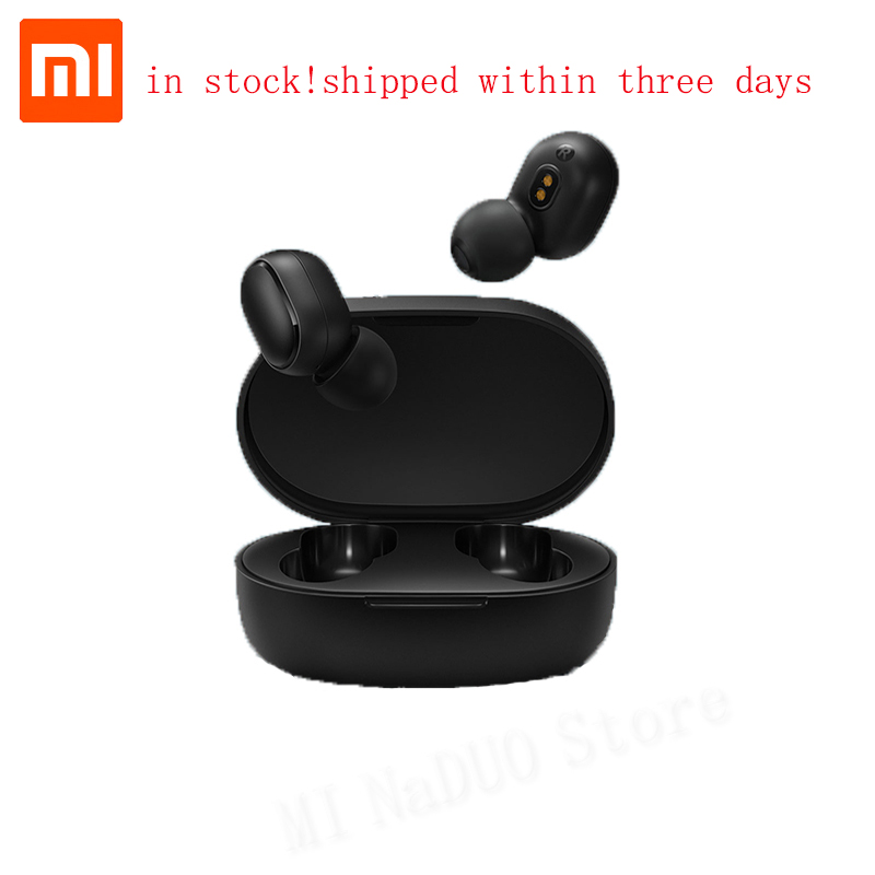 Xiaomi Redmi Airdots True Wireless TWS Bluetooth 5.0 Earphones DSP Active Noise Cancellation Headset Mic Earbuds AI Control(China)