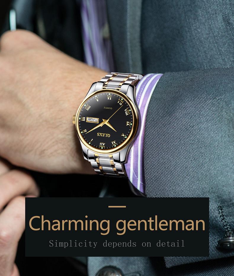 HTB1mxuIi.F7MKJjSZFLq6AMBVXa8 - OLEVS Luxury Men Gold Watches High Quality Watch Men's Quartz Date Clock Male Week Display Wristwatch Steel relogio masculino