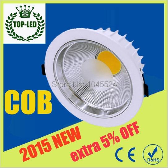 new arrival cob led downlight 30w dimmable led fixture ceiling lamp light 110-240v led spot light indoor lighting + Driver<br><br>Aliexpress