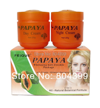 PAPAYA Whitening anti freckle natural botanical formula skin care whitening cream for face cream facial cream 4sets/lot