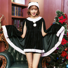 Adult Sexy Christmas Costumes Women Father Christmas Cosplay Miss Santa Dress
