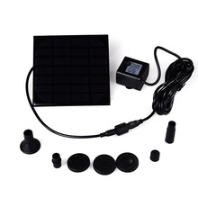 Water Pump Power Panel Kit Fountain Brushless DC Solar Pool Garden Watering Pumb Plants - LEDERTEK official store