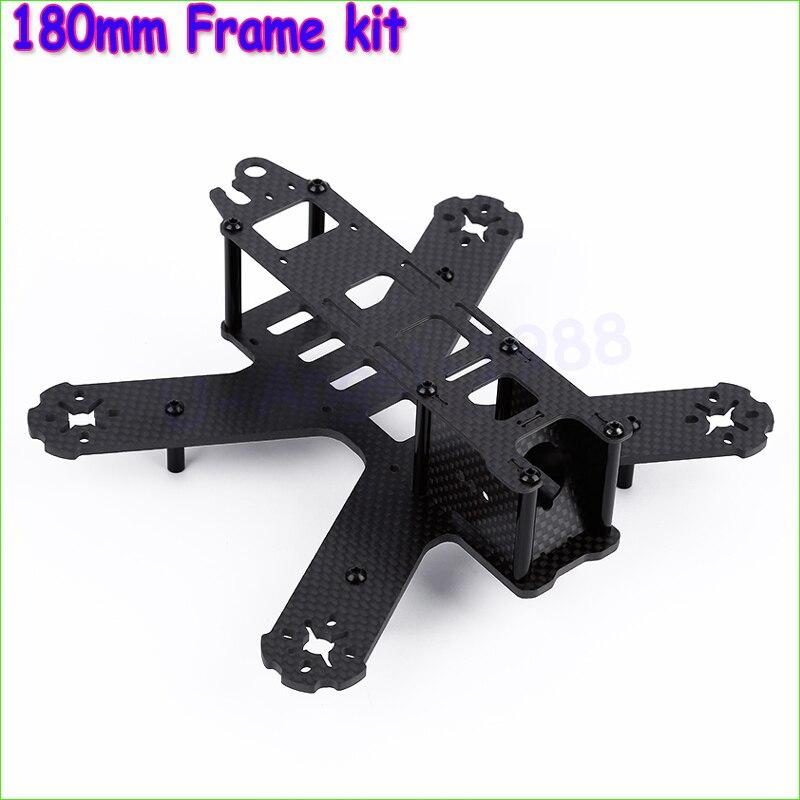 Wholesale 1pcs Mini 180mm  All carbon fiber Frame for 180 QAV180 Mini Quadcopter Racing frame Crossing frame Aluminum Column<br><br>Aliexpress