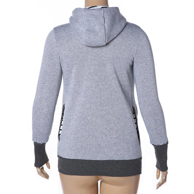 fashion style long sleeve maternity warm clothing mother autumn winter women hoddies carry baby infant sweatshirt zipper coat 7