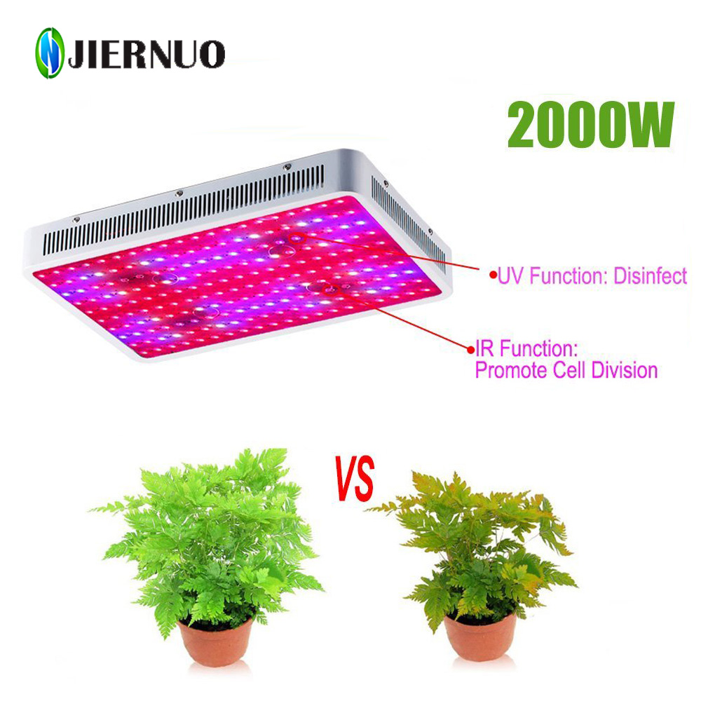 LED Grow Light 1000W 1200W 2000W 1500W 900W Mini 600W Full Spectrum LED Grow Light Indoor Plants Growing Flowering Grow Light CJ(China (Mainland))