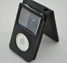 Free Shipping Leather Flip Case Cover For Apple iPod Classic 80GB 120GB 7th Gen New 160GB