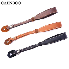 Buy CAENBOO Universal Genuine Leather Camera Wrist Hand Strap Grip Canon EOS Nikon Sony NEX Fuji Leica SLR Digital Camera Strap for $5.09 in AliExpress store