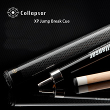 Collapsar XP 147cm Pool Cue Stick Billiards Punch Jump Cue Break Stick 1/2 Split Nine Ball Maple Shafts 19OZ Free Shipping(China)
