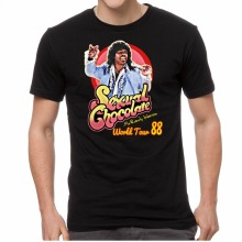 Buy T Shirts Online Short Sleeve Sexual Chocolate Randy Watson Eddy Murphy 1988 World Tour Funny t Shirt Casual Crew Neck Tee Shirts