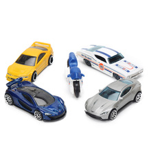 10pcs 6F Genuine Fast and Furious Hot Wheels 1:64 Diecast Cars Model Toys Mini Alloy Sports Car for Boy Model Carros brinquedos(China)