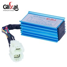 Glixal High Performance Racing Blue CDI Box Unit for Gy6 50cc 125cc 150cc 139QMB 152QMI 157QMJ Scooter Go Kart ATV Quads(China)