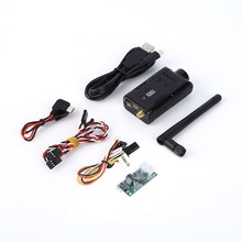 1pcs 5.8G 32CH 400MW 32 Channels HD 1080P FPV Wireless Transmitter DVR Camera Wholesale