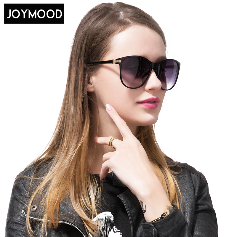 JOYMOOD 2017 Ladies Round Face Sunglasses Large Square Retro Box Splitter Driving Sunglasses Women Sunglass Oval Alloy Frame<br><br>Aliexpress
