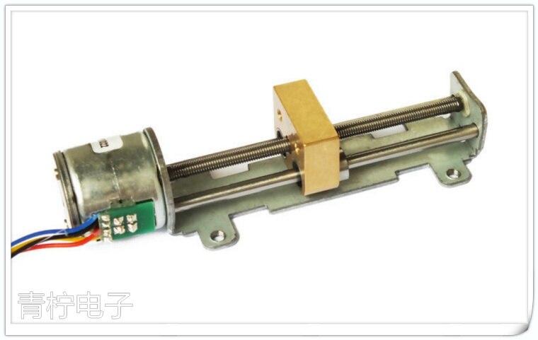 Screw  Stepping Motor Slide Table Motor slider 20mm Long 65mm Drive Bearing<br>