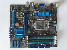 Free shipping original ASUS P7H55-M motherboard LGA1156 Intel H55 chipset i3 i5 i7 16G DDR3, work perfect