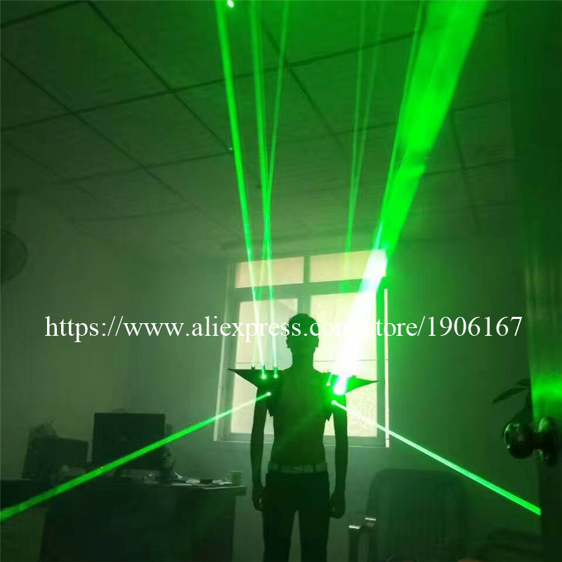 Fashion Red color men Laser vest Costumes cloth suit LED laser bar party props performing luminous clothing dj disco dress show01