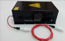 80w co2 laser power supply for 1250mm co2 laser tube 80w of co2 laser engraving and cutting machine(China)