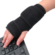 Left and Right 2017 New Bandage Orthopedic Hand Brace Wrist Support Finger Splint Carpal Tunnel Syndrome 1 Pair