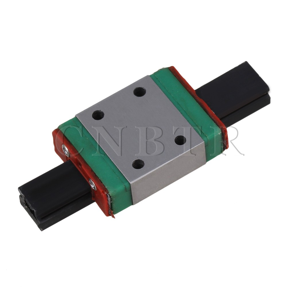 CNBTR 6.5mm Thick 23mm Length Linear Guide Rail Sliding Block MGN7C<br><br>Aliexpress