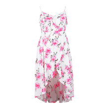 Buy 2018 Women Chiffon Floral Maxi Dress Plus Size 5xl Sexy Ruffle Boho Beach Long Dresses Asymmetrical Summer Holiday Sundress 6xl for $16.79 in AliExpress store