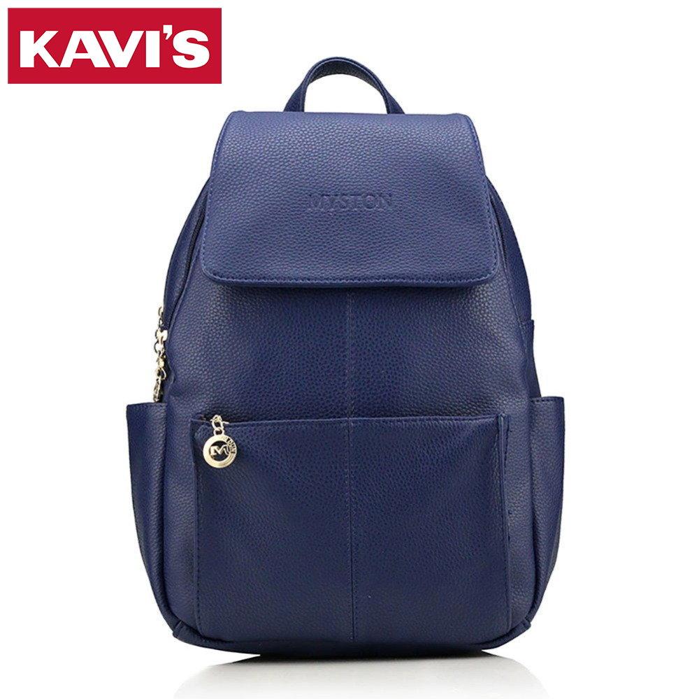 2017 Fashion Backpack Women Ladies High Qulaity PU Leather Rucksack School Bags Casual Backpacks for Teenage Girls Waterproof<br>