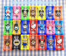 Cute Cat Case For Samsung Galaxy Ace 4 Lite G313 G313H SM-G313H Case 3D Animals Soft Silicon Batman Minions Stitch Cover