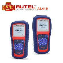 100% Original Autel AutoLink AL419 OBD II and CAN Scan Tool Update Via Official Website al 419 High quality DHL Free Shipping