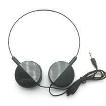 High quality gift headphones Head band headset stereo earphone without microphone