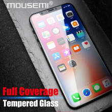 Buy MOUSEMI Tempered Glass iPhone X 10 Glass Full Cover Phone Screen Protector Hard Film 9H 2.5D /For iPhone X 10 Tempered Glass for $1.39 in AliExpress store