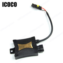 ICOCO Digital 12V Car Xenon HID Conversion Kit Replacement With Slim Ballast Blocks for Headlights H1 H3 H7 H11 DC 12V 55W