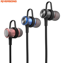 RIVERSONG Sport Mini Stereo Bluetooth Earphone V4.1 Wireless Crack Headphone Earbud Super Bass HIFI Universal for Samsung XIAOMI(China)