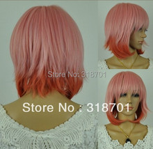 New Arrival Pink Hair Anime Cosplay Wigs (Free Shipping)