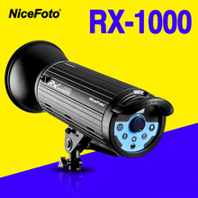 NiceFoto RX-1000 1000W Studio Flash fast recycling time RX1000 Studio photography studio light lamp touch button(China)