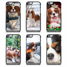 Cavalier King Charles Spaniel Dog Cover Case for Samsung A3 A5 A7 2015 2016 2017 Sony Z1 Z2 Z3 Z5 Compact X XA XZ Performance(China)